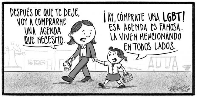 Caricatura Noticiero Poteleche – Diario Libre, 24 de Octubre 2018
