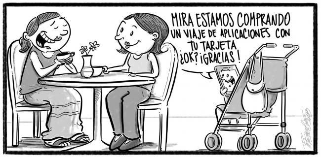 Caricatura Noticiero Poteleche – Diario Libre, 26 de Octubre 2018