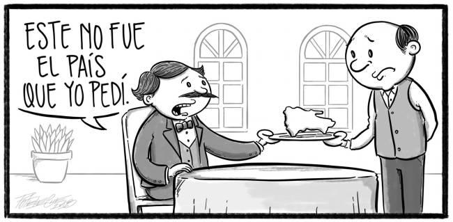 Caricatura Noticiero Poteleche – Diario Libre, 30 de Octubre 2018