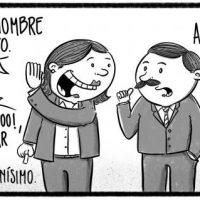 Caricatura Noticiero Poteleche – Diario Libre, 31 de Octubre 2018