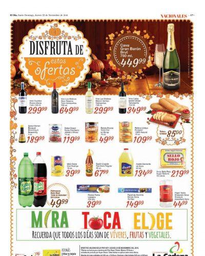 Encarte La Cadena, Jueves 22 de Noviembre 2018