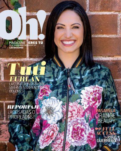 Portada Oh! Magazine, 17 de Noviembre 2018