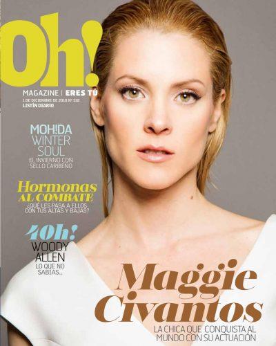 Portada Oh! Magazine, Diciembre 2018