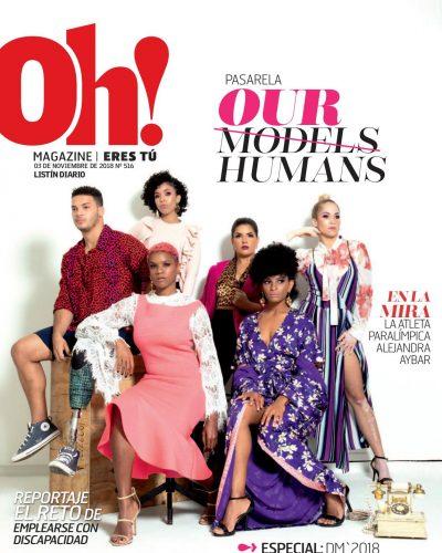 Portada Oh! Magazine, Noviembre 2018