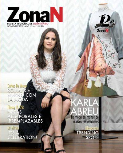 Portada ZonaN, Noviembre 2018