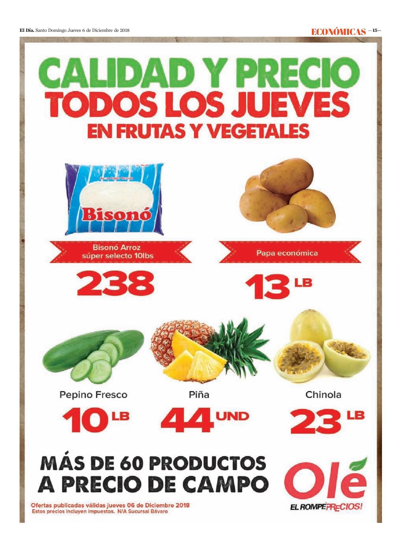Encarte Olé, Jueves 06 de Diciembre 2018