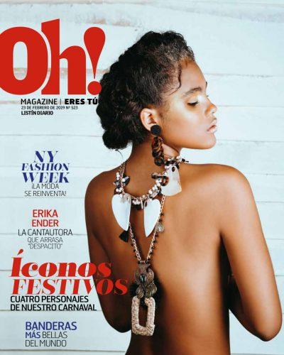 Portada Oh! Magazine, Febrero 2019