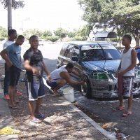 Someterán a lavadores informales de vehículos que no obedezcan a las autoridades