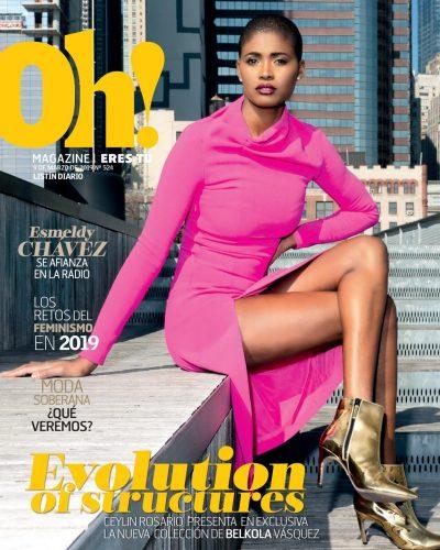 Portada Oh! Magazine, 09 de Marzo 2019