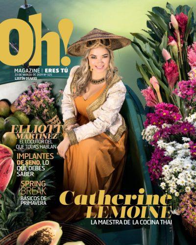 Portada Oh! Magazine, 23 de Marzo 2019