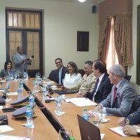 Una reunión con los altos mando militares, policiales y del DNI se lleva a cabo en el Palacio Nacional