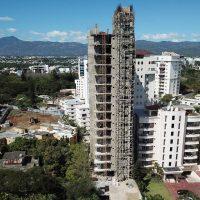 Construyen el edificio más alto del Santiago y el Cibao