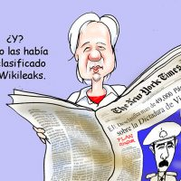 Caricatura El Caribe – Mercader, 24 Abril 2019