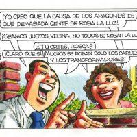 Caricatura Rosca Izquierda – Diario Libre, 24 Abril 2019