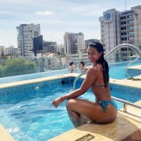 Caroline Solano, Hot Bikini Dominicana – 14 Abril 2019