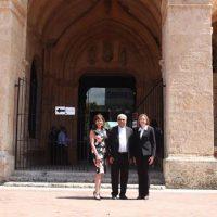 Embajadora de Estados Unidos y subsecretaria del Departamento de Estado son recibidas por Ozoria en la Catedral