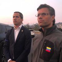 "Leopoldo López: ""He sido liberado por militares a la orden de Juan Guaidó, todos a movilizarnos"""