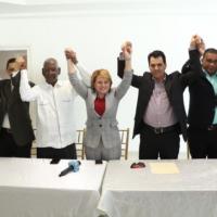 """Lucía Medina juramenta """"altos dirigentes"""" del PRM en San Juan"""