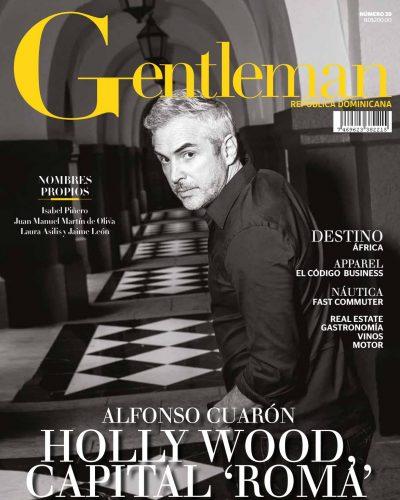 Portada Gentleman, Abril 2019