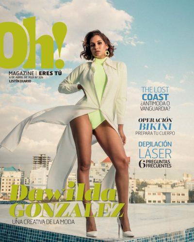 Portada Oh! Magazine, Abril 2019