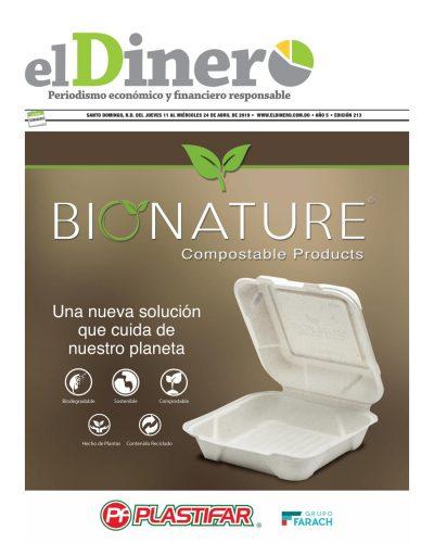 Portada Periódico El Dinero, Jueves 11 Abril 2019