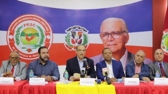 """PRSC denuncia el PLD somete a """"fuertes presiones"""" a JCE para que cambie normativa electoral"""