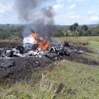Helicóptero se estrella en Puerto Plata; al menos dos víctimas