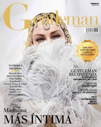 Portada Gentleman, Junio 2019