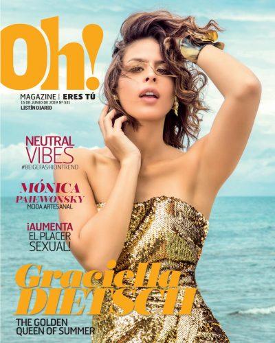 Portada Oh! Magazine, 19 Junio 2019