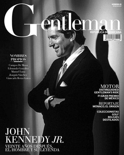 Portada Gentleman, Julio, 2019