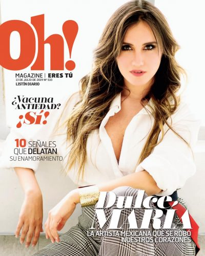 Portada Oh! Magazine, 15 de Julio, 2019