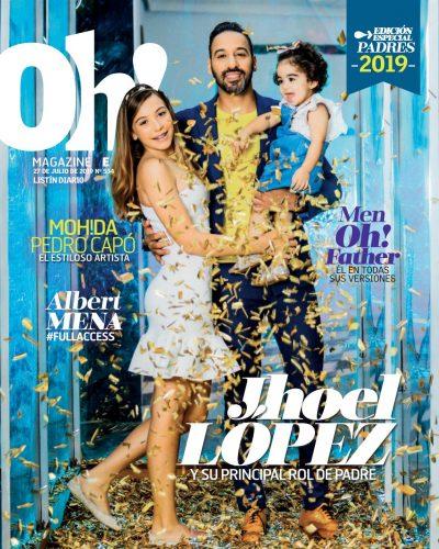 Portada Oh! Magazine, Julio, 2019