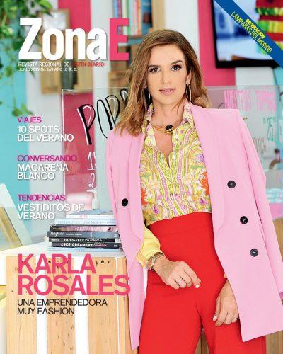 Portada Periódico ZonaE Lunes, Lunes 01 de Julio, 2019