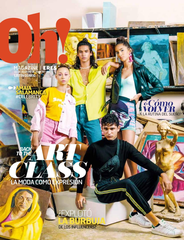 Portada Oh! Magazine, Agosto, 2019