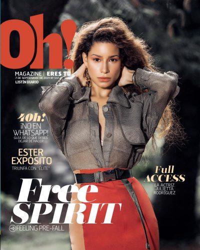 Portada Oh! Magazine, 07 de Septiembre, 2019