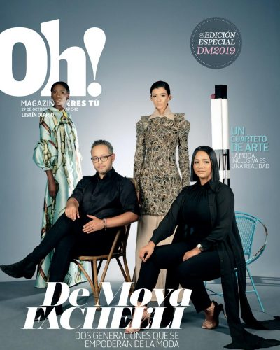 Portada Oh! Magazine, Octubre, 2019