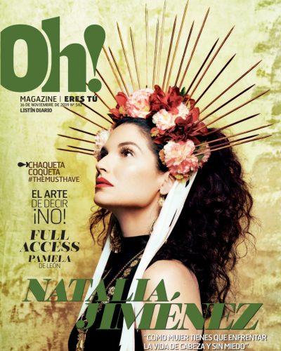 Portada Oh! Magazine, Noviembre, 2019