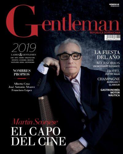 Portada Gentleman, Diciembre, 2019