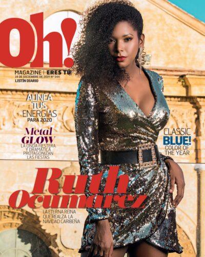 Portada Oh! Magazine, Diciembre, 2019