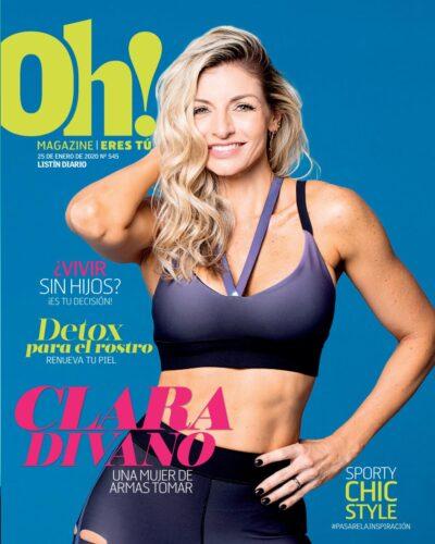 Portada Oh! Magazine, Enero, 2019
