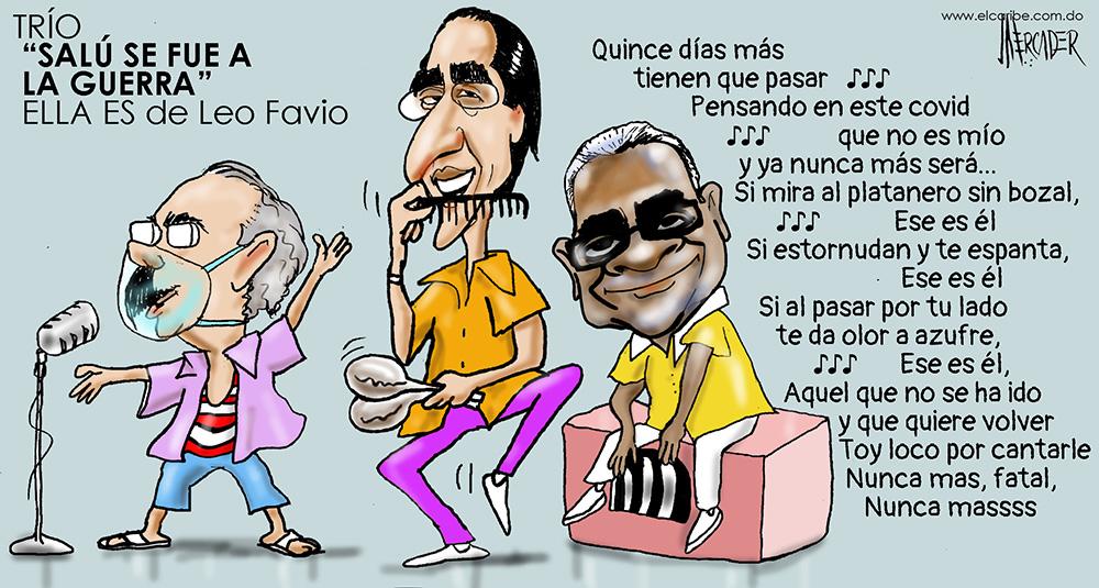 Caricatura El Caribe – Mercader, 19 de Mayo, 2020