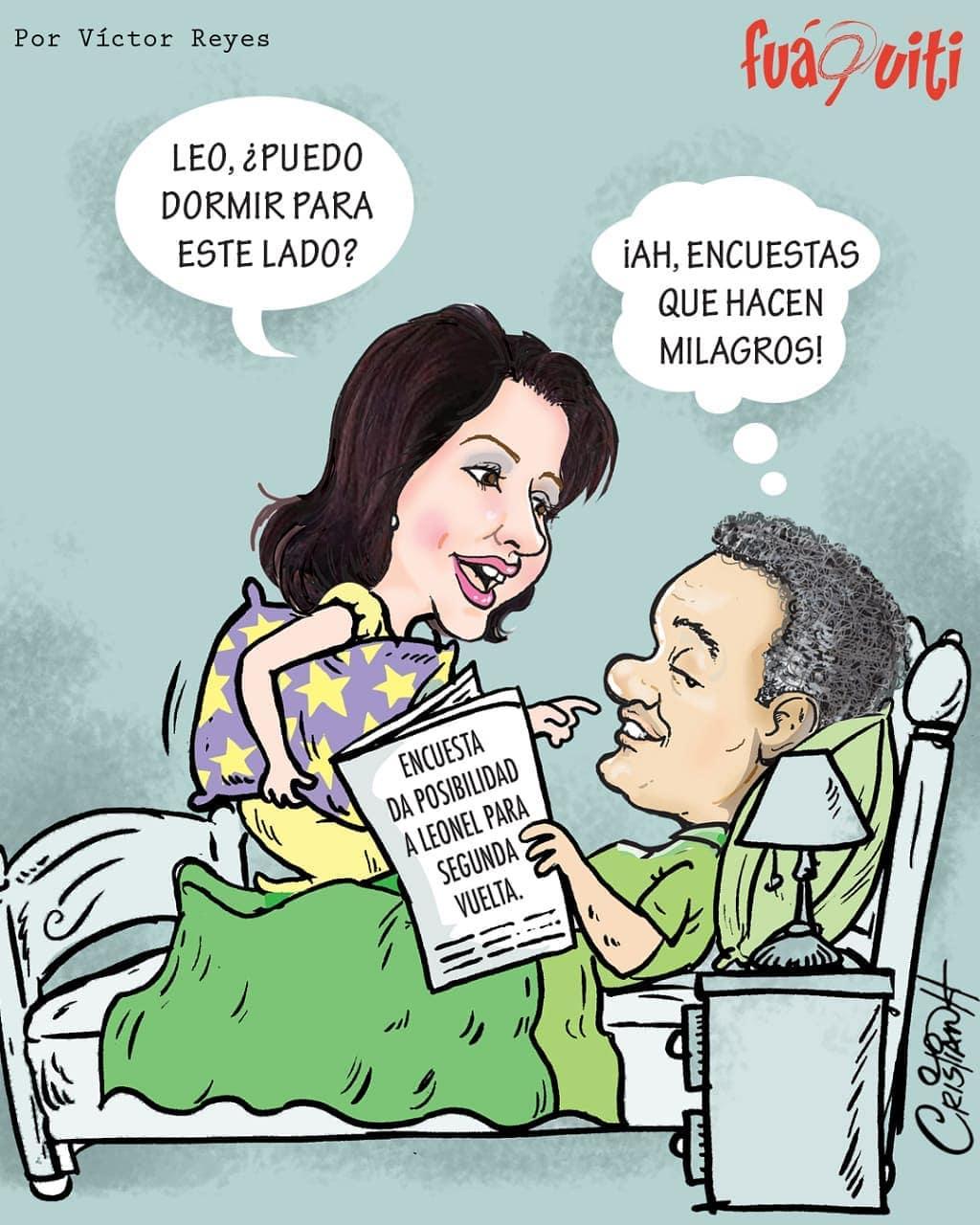 Caricatura Fuaquiti, 15 de Mayo, 2020 – ¡Las Encuestas!