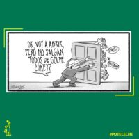 Caricatura Noticiero Poteleche – Diario Libre, 19 de Mayo, 2020