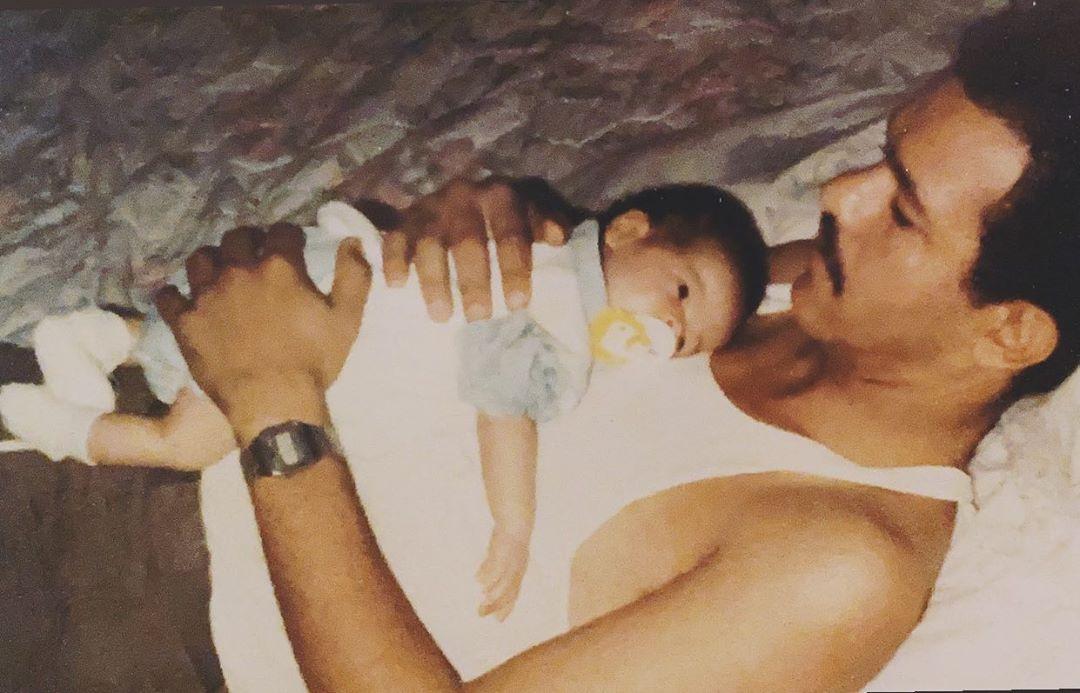 Nicole Fernández, hija del expresidente Leonel Fernández comparte su Amor Paternal