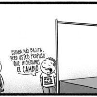 Caricatura Noticiero Poteleche – Diario Libre, 13 de Julio, 2020