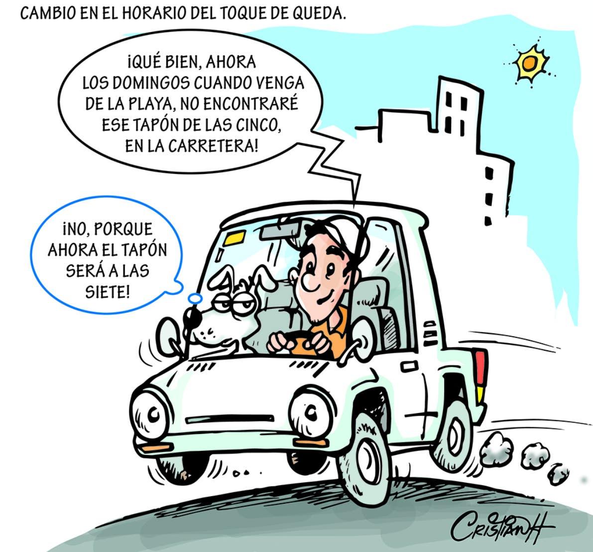 Caricatura Cristian Caricaturas – El Día, 23 de Septiembre, 2020