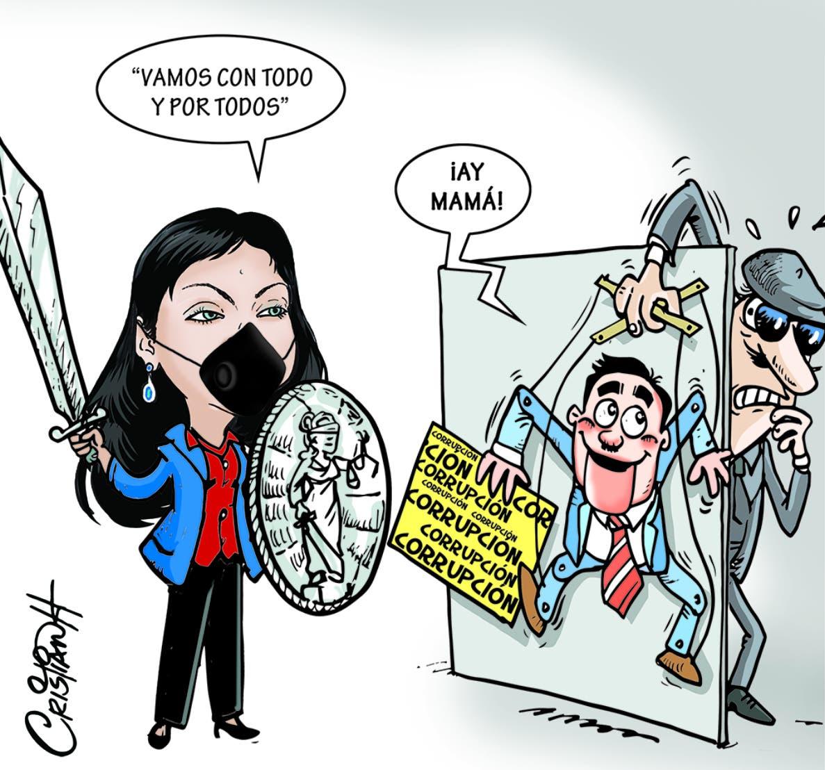 Caricatura Cristian Caricaturas – El Día, 25 de Septiembre, 2020