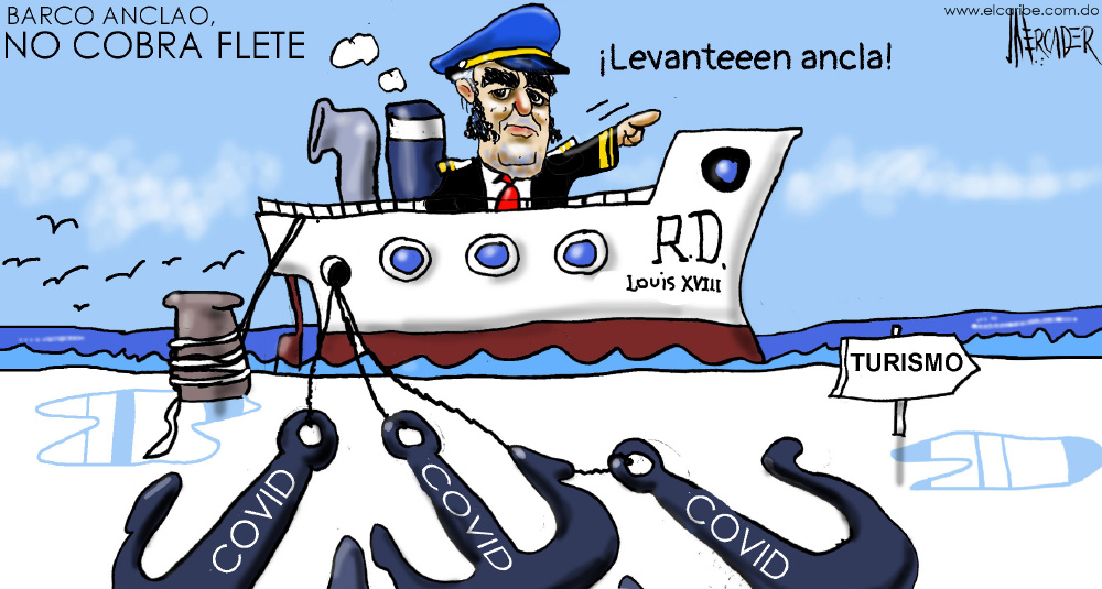 Caricatura El Caribe – Mercader, 28 de Septiembre, 2020