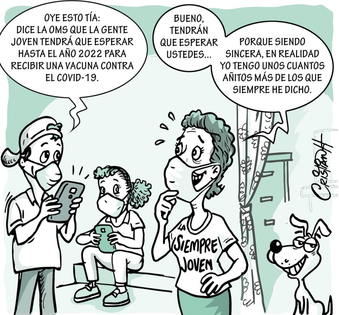 Caricatura Cristian Caricaturas – El Día, 15 de Octubre, 2020