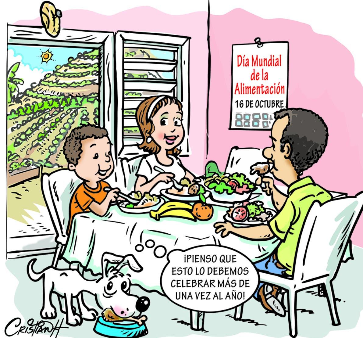 Caricatura Cristian Caricaturas – El Día, 16 de Octubre, 2020